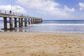 Pier at Porto Santo — Stock Photo