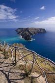 Ilheu de Baixo, (Ilheu da Cal) Madeira islands — Stock Photo