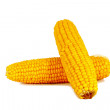 Stock Photo: Cooked corn cob sweetcorn