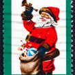 Postage stamp USA 1972 Santa Claus — Stock Photo
