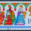 Royalty-Free Stock Photo: Postage stamp GREAT BRITAIN  1969 The Three Kings