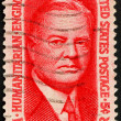 United States of America - circa 1965: a stamp printed in the Un — Stock Photo