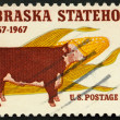 United States of America - circa 1967: a stamp printed in the Un — Stock Photo
