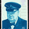 Postage stamp GREAT BRITAIN 1974 Sir Winston Spencer Churchill — Stock Photo