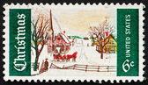 Postage stamp USA 1969 Winter — Stock Photo