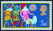 Postage stamp GREAT BRITAIN 1969 The Three shepherds — 图库照片