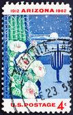 Postage stamp USA 1962 Giant Saguaro Cactus — Stock Photo