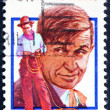 Stock Photo: Postage stamp US1979 Will Rogers