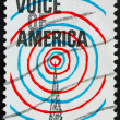 Royalty-Free Stock Photo: Postage stamp USA 1967 Voice of America