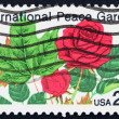 United States of America - circa 1982: a stamp printed in the Un — Stock Photo