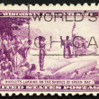 United States of America - circa 1934: a stamp printed in the Un — Stock Photo