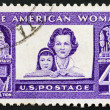 Stock Photo: UNITED STATES OF AMERIC- CIRC1960: stamp printed in Un