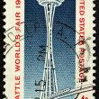 United States of America - circa 1962: a stamp printed in the Un — Stock Photo