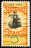 Postage stamp USA 1967 National Grange — Stock Photo