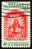 UNITED STATES OF AMERICA - CIRCA 1960: a stamp printed in the Un — Zdjęcie stockowe
