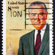 Postage stamp US1973 Lyndon B. Johnson — Stock Photo #6434150
