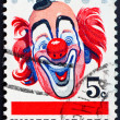 Postage stamp USA 1966 happy Clown — Stock Photo