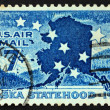 UNITED STATES OF AMERICA - CIRCA 1959: a stamp printed in the Un — 图库照片