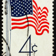 UNITED STATES OF AMERICA - CIRCA 1960: a stamp printed in the Un — Stock Photo