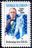 Postage stamp USA 1978 George M. Cohan — Stock Photo