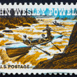 Postage stamp USA 1969 John Wesley Powell geologist and explorer - Stock Photo