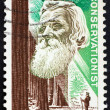 Stock Photo: Postage stamp US1964 John Muir
