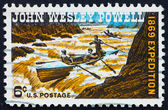 Postage stamp USA 1969 John Wesley Powell geologist and explorer — Stock Photo