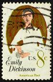 Postage stamp USA 1971 Emily Elizabeth Dickinson — Stock fotografie