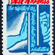 Stock Photo: Postage stamp US1966 Bill of Rights