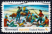 Postage stamp USA 1971 Missouri sesquicentennial issue — Stock Photo