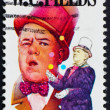 Stock Photo: Postage stamp US1980 W. C. Fields