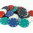 Poker chips — Stock Photo #6559900