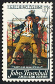Postage stamp USA 1968 John Trumbull — Stock Photo
