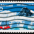 Postage stamp USA 1991 Antarctic treaty — Stock Photo