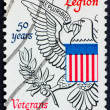 Postage stamp USA 1969 Eagle from Great seal — Stock Photo
