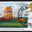 Postage stamp GREAT BRITAIN 1979 The First spring meeting — Стоковая фотография