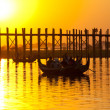 Bridge in Myanmar — Stock Photo