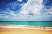 Güneşli bir gün denizde — Stok fotoğraf