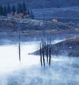 Outono no lago — Foto Stock