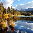 Autumn lake — Stock Photo #5748286