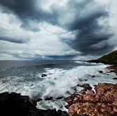 Sea in storm — Stock Photo