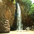 Waterfall in Kenya - Stockfoto