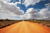 Road in prarie — Stock Photo
