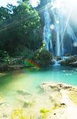 Cascada en myanmar — Foto de Stock