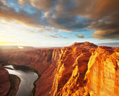 Colorado river in Arizona — Foto Stock