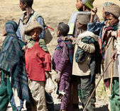 Ethiopian childrens — Stock Photo