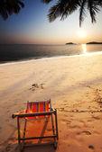 Beach scene — Stockfoto