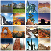 American landscapes — Stockfoto