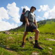 Hike in mountains — Stock Photo #6556932