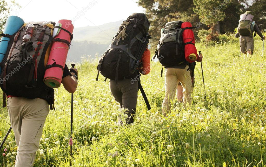 Backpackers — Stock Photo #6557246